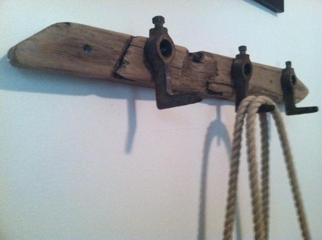 Hooks on Driftwood