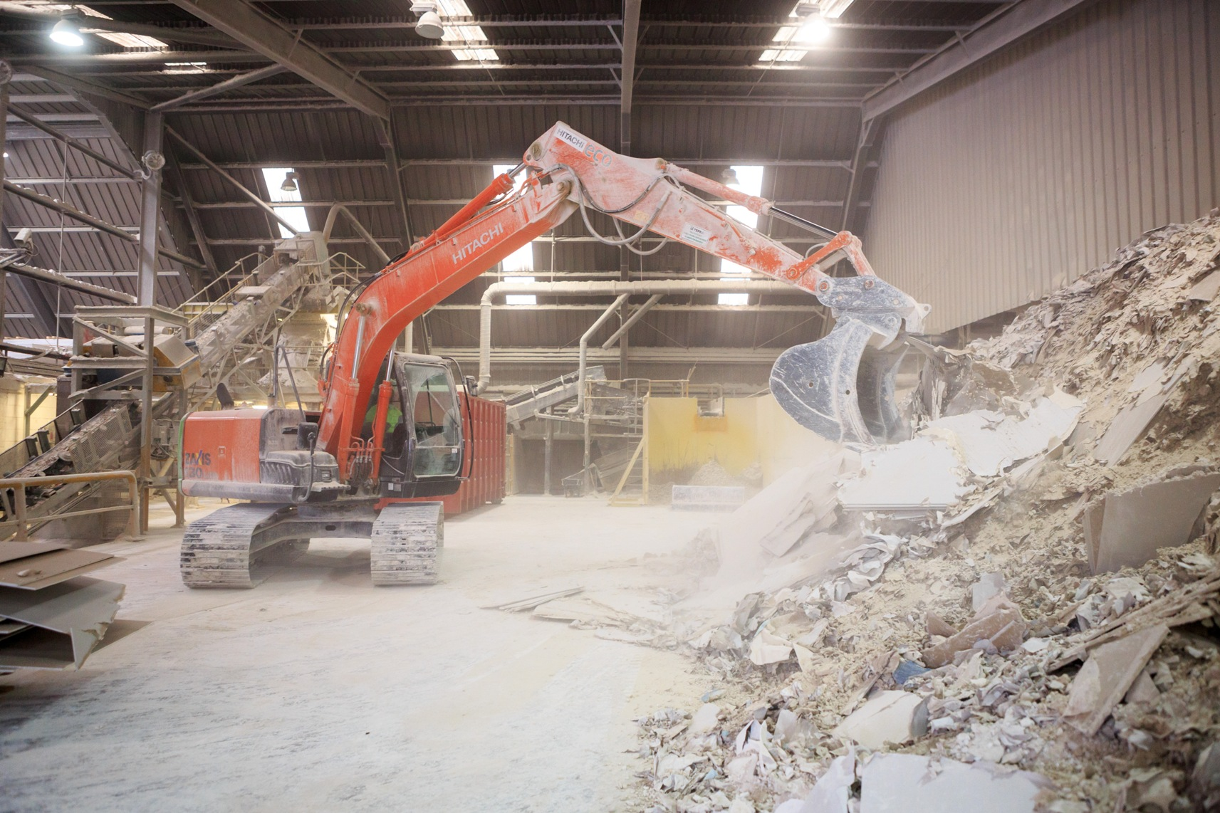Photo of Siniat Bristol Plasterboard Recycling
