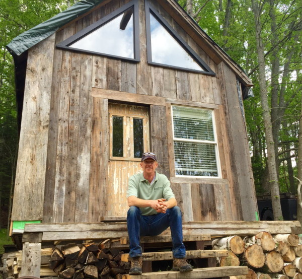 Career Out Of Foraging Old Maine Wood