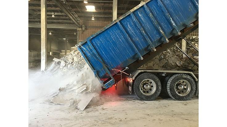 NYC closes the loop on gypsum wallboard