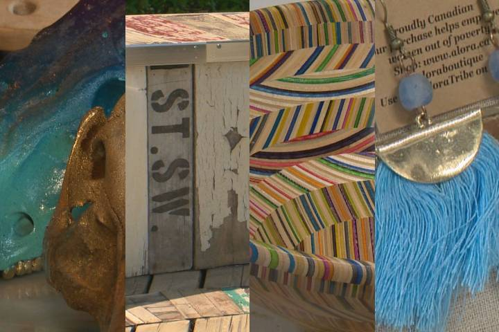 Whether sustainability was their main objective or not, Calgarians have come up with a variety of ways to upcycle and repurpose everything from skateboards to skulls.