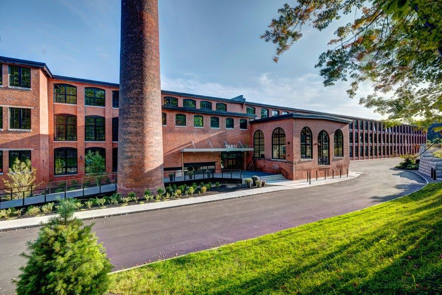Adaptive Reuse and Restoration of a Historic Building Features 57 Modern Lofts
