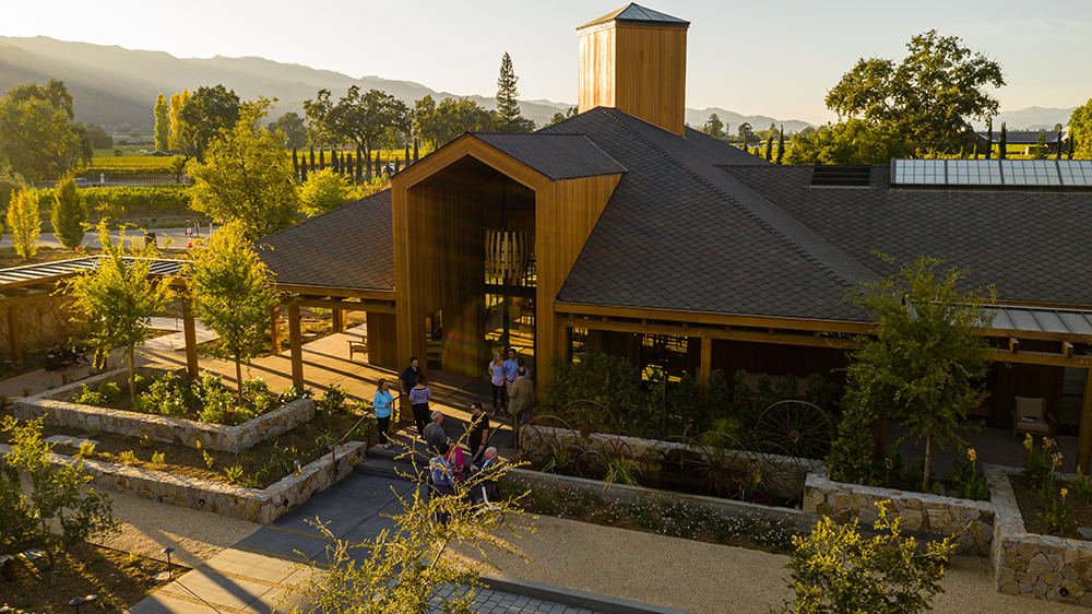 cakebread cellars new tasting center