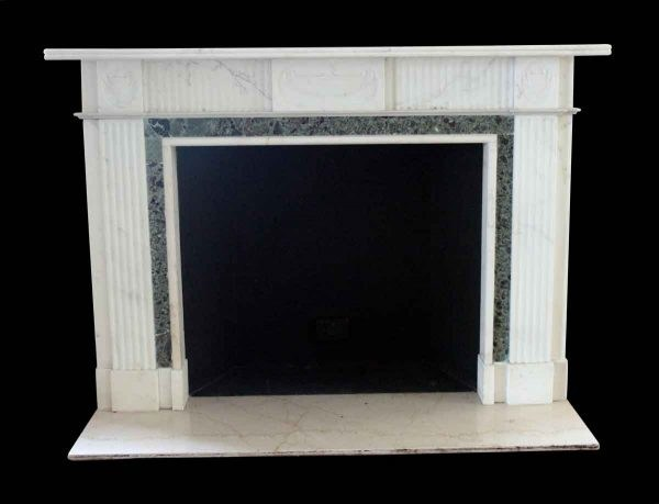 New York's historic Waldorf Astoria Hotel English Regency marble fireplace mantel