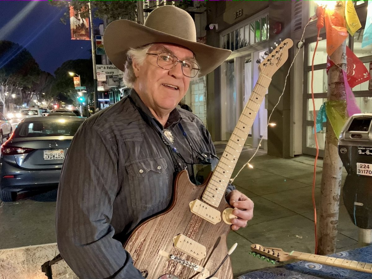 Steve Pierson of Crude Luthier